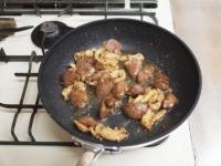 鶏レバーと鶏皮の生姜炒めt36