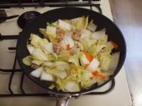 白菜のクリームスープスパゲティt29