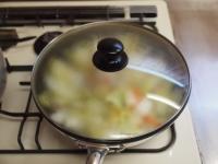 白菜のクリームスープスパゲティt30