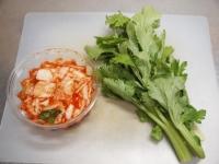 鶏むね肉とセロリのキムチサラt54