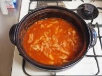 残った鍋でトマトリゾット32