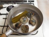 ホンビノス貝の吸い物t17