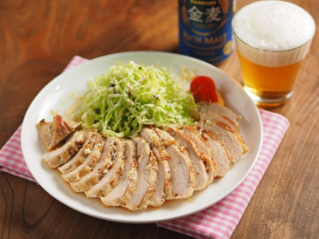 鶏むね肉のトースター焼きt20