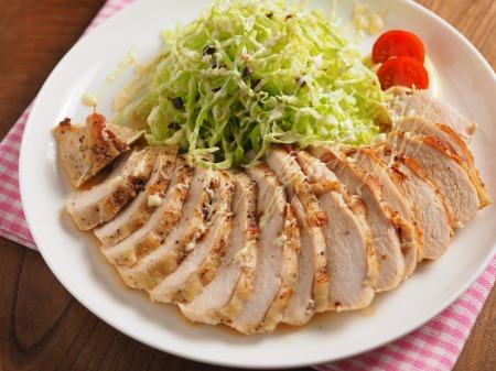 鶏むね肉のトースター焼きt06
