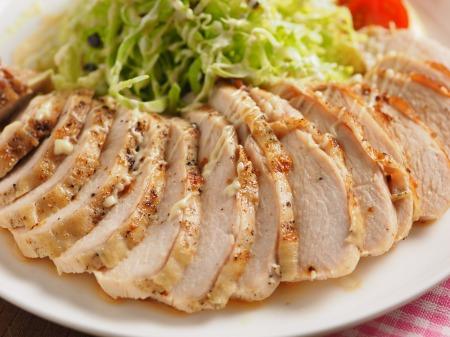 鶏むね肉のトースター焼きt07