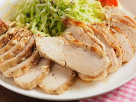 鶏むね肉のトースター焼きt28