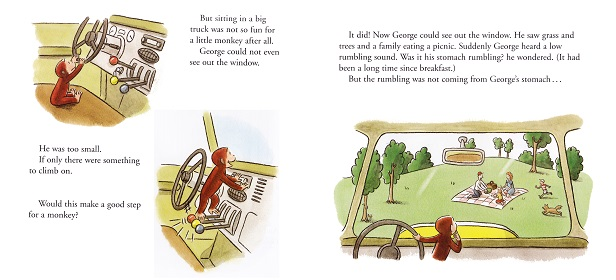 """Curious George and the Dump Truck""その2"