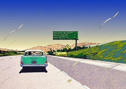 『PASSING THROUGH CALIFORNIA』