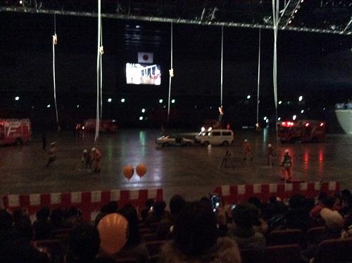 H28年1月9日福岡市消防出初式、救助訓練