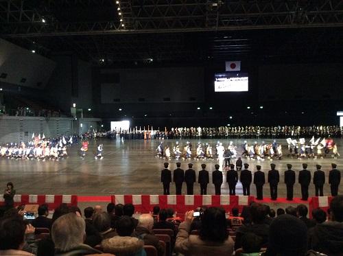 H28年1月9日福岡市消防出初式、分列行進
