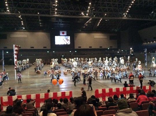 H28年1月9日福岡市消防出初式、消防伝統技術演技