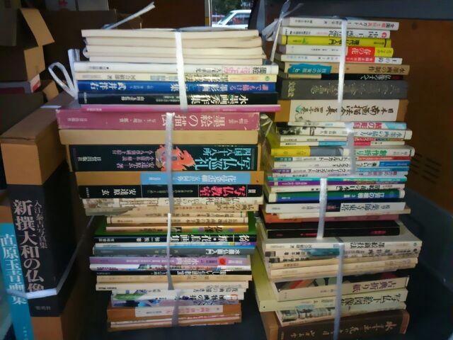 20151211_墨絵・仏画・南画の本、画集