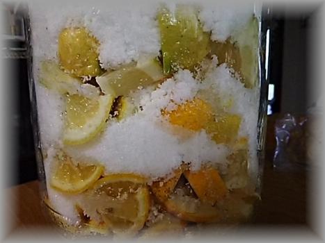 レモンとカボスの酵素ジュース