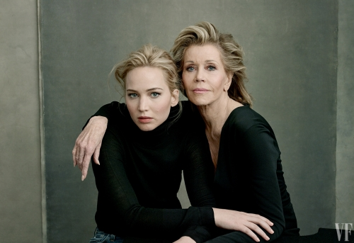 03 JANE FONDA (WITH JENNIFER LAWRENCE)