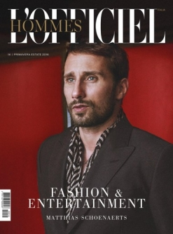 L'OFFICIEL HOMMES Italia, Spring/Summer 2016