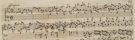 Partita BWV 830 Gigue 1731