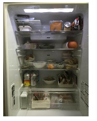 正月冷蔵庫