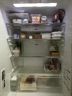 冷蔵庫 買い出し後