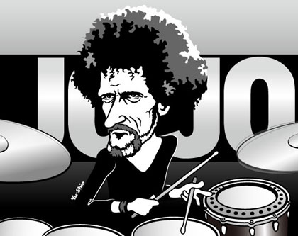 JoJo Mayer Nerve caricature