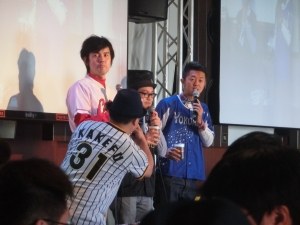 野球ファン忘年会にも登場!