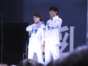 スタッフユニの、ファッションショー!