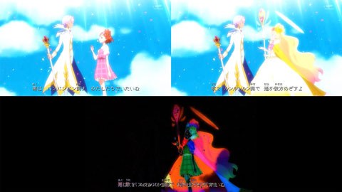 【Go!プリンセスプリキュア】OP比較[第49回・第50回]