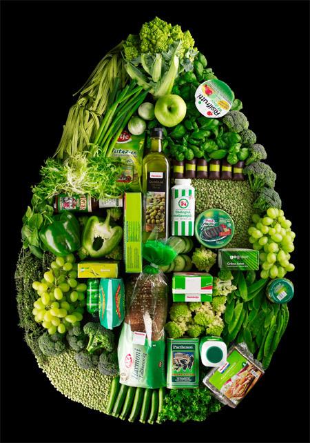 食品のカラーとイメージ