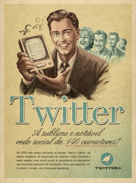 Twitterをレトロ調デザインでどうぞ