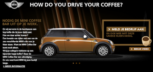 MINI – How do you drive your coffee?