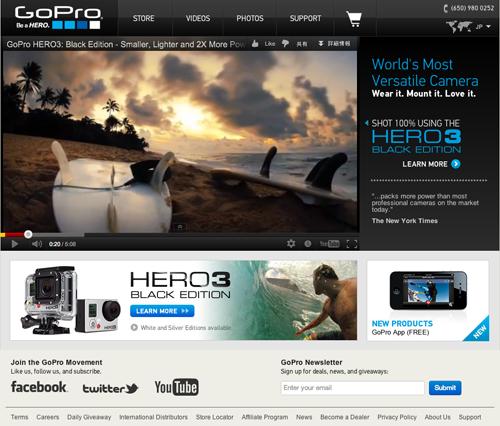 Go Pro HERO3