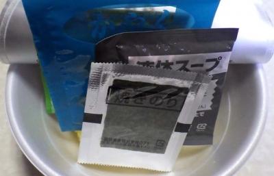2/29全国発売 麺ニッポン 青森濃厚煮干ラーメン(内容物)