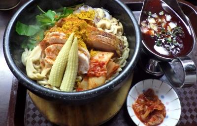 麺のようじ 石焼カレー担々和え麺