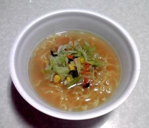たっぷり野菜の旨塩タンメン(できあがり)
