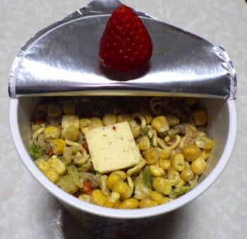 味噌バター味コーンラーメン(内容物)