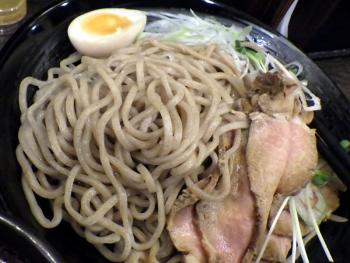 綿麺 つけ麺 大(2015年12月)(麺のアップ)