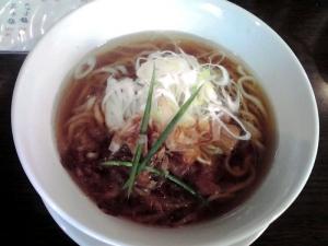 手打ち麺 やす田 カツオ醤油