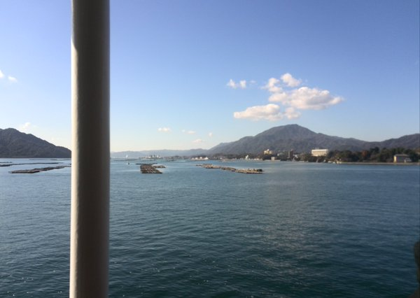 厳島神社 海の上からの絶景