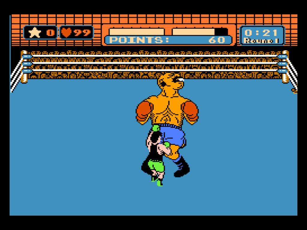 パンチアウト!!はファミリーコンピュータで発表されたボクシングゲームであるが……