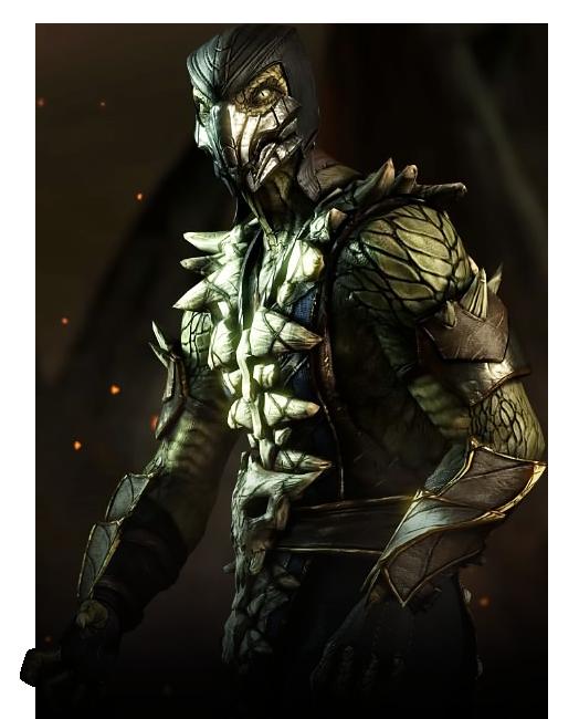 強力な酸を武器に戦う爬虫類の亜人も非常に強力である