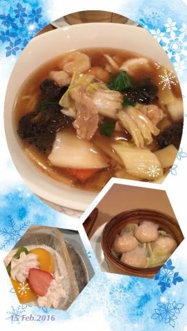 苗場プリンス中華の夕ご飯