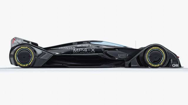 マクラーレンMP4-X