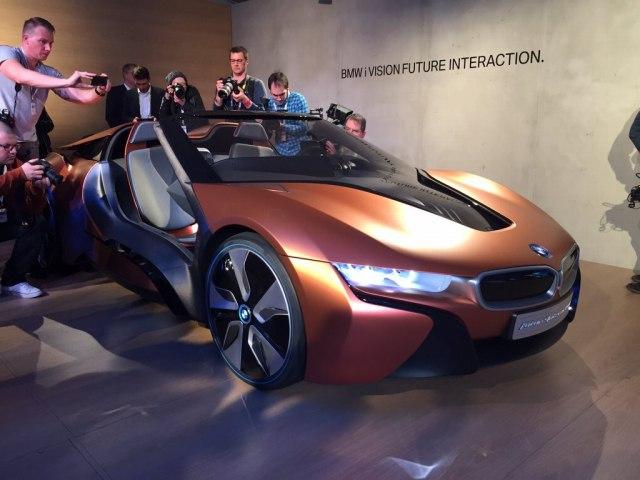 BMW iヴィジョン フューチャー インタラクション コンセプト