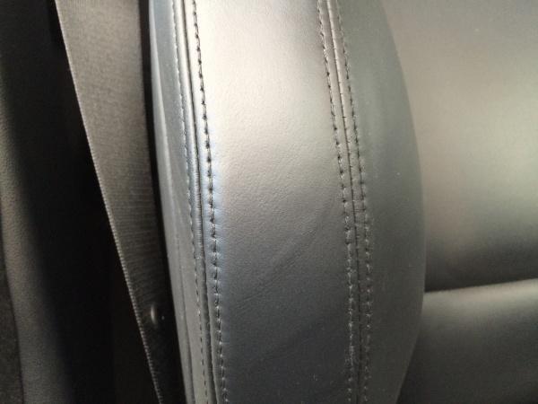 レザーシート 擦れ補修 BMW M3