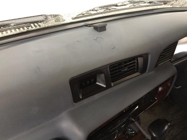 ダッシュボード 割れ補修 トヨタ ランドクルーザー