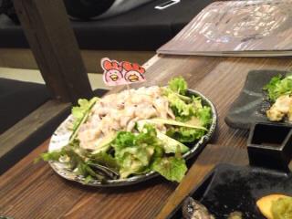 昇進祝いサラダ