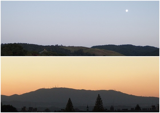 151025奈良クラス会若草山と生駒山