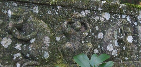 151124鳴谷神社の三猿