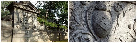 160221旧岩崎邸庭園袖塀