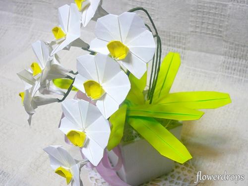 クリスマス 折り紙 : 折り紙 お花 : flowerdrops087.blog.fc2.com