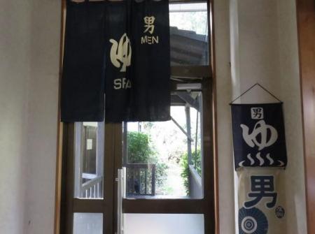 ヒヨドリ猫温泉 006